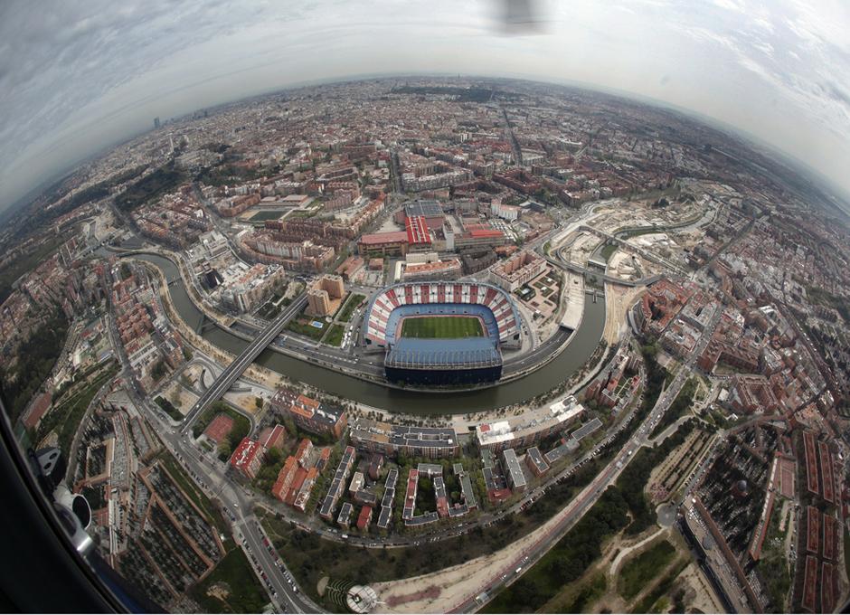 Estadio Vicente Calderón, sede de la Final de Copa del Rey 2016