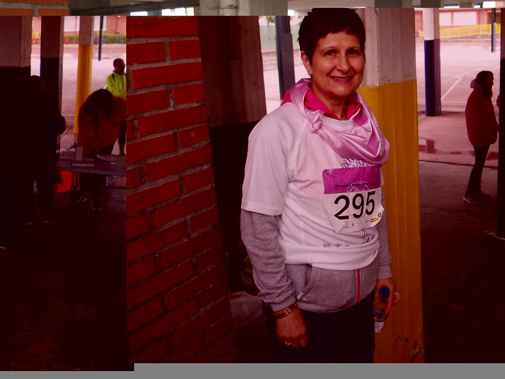 Gloria Pérez, presidenta de la Asociación contra el cáncer de Valdeorras