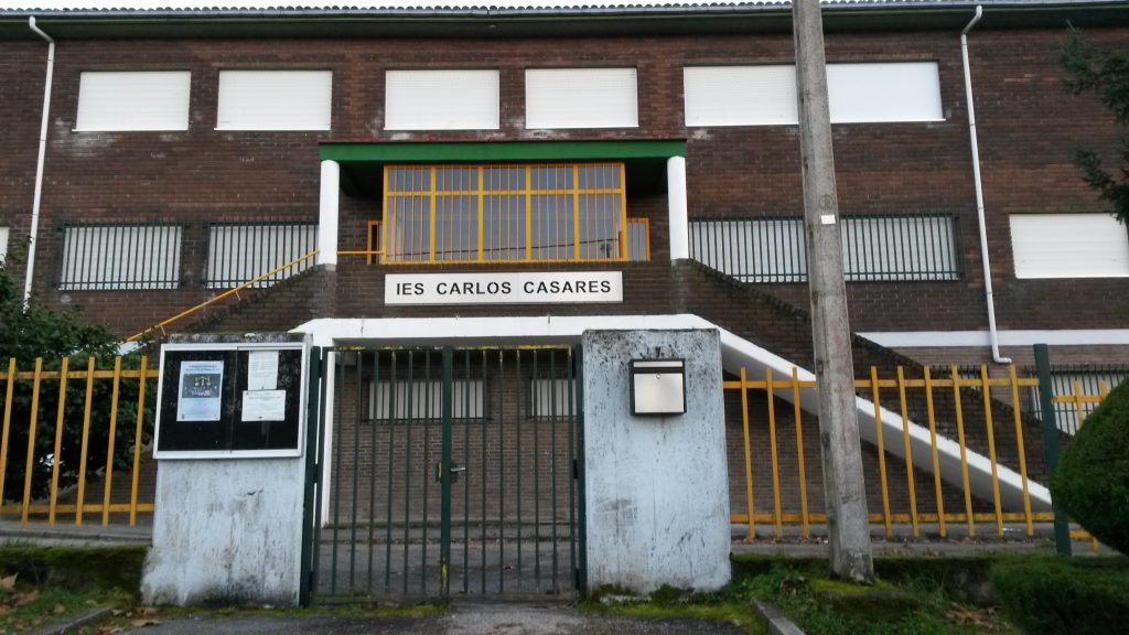 Instituto de Viana donde habrá una obra de teatro