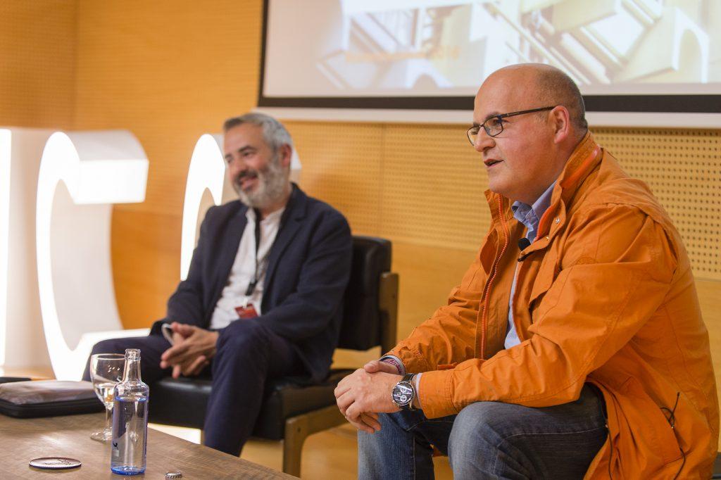 Jordi Tresserras e Manuel Baltar na presentación