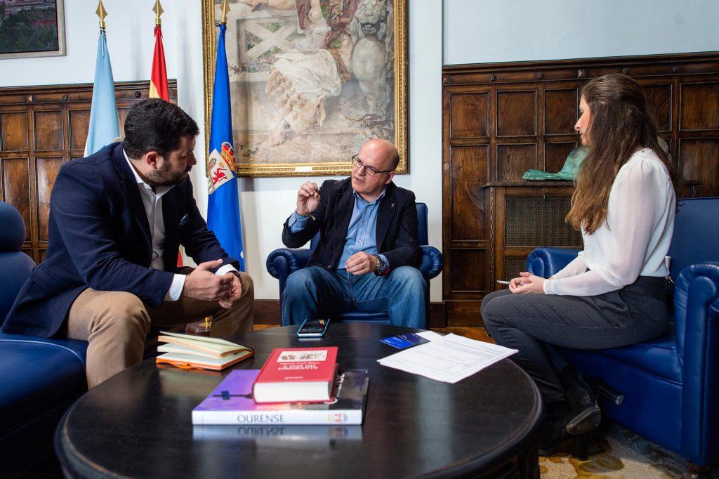 Jorge Brown, Manuel Baltar e Carlota Pico