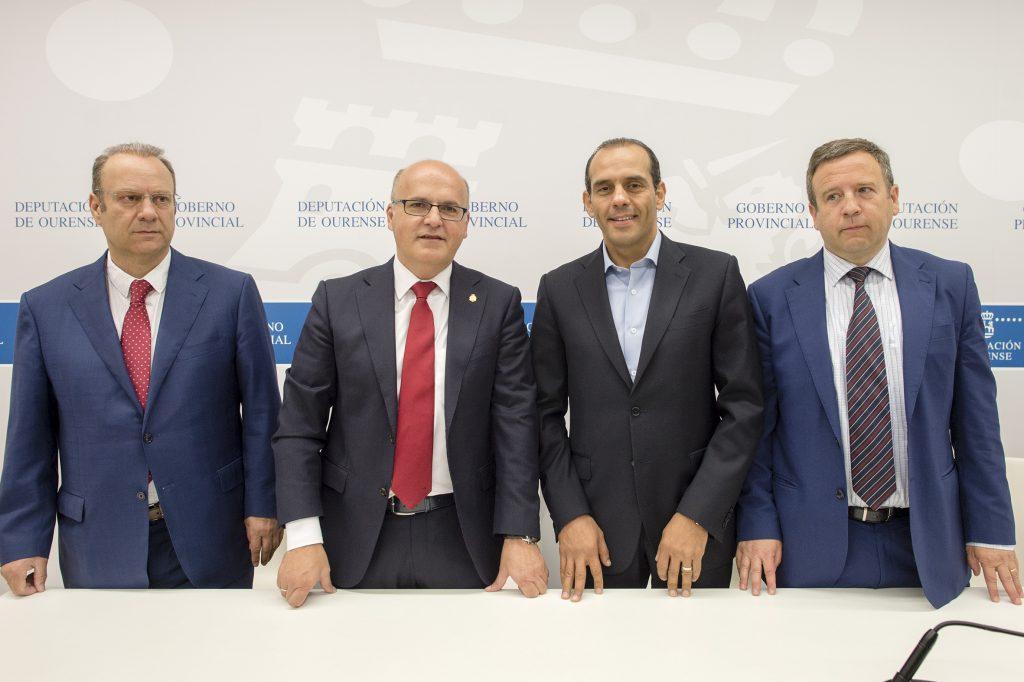 José Manuel Pérez Canal, Manuel Baltar, Juan Verde e Antonio Villaverde