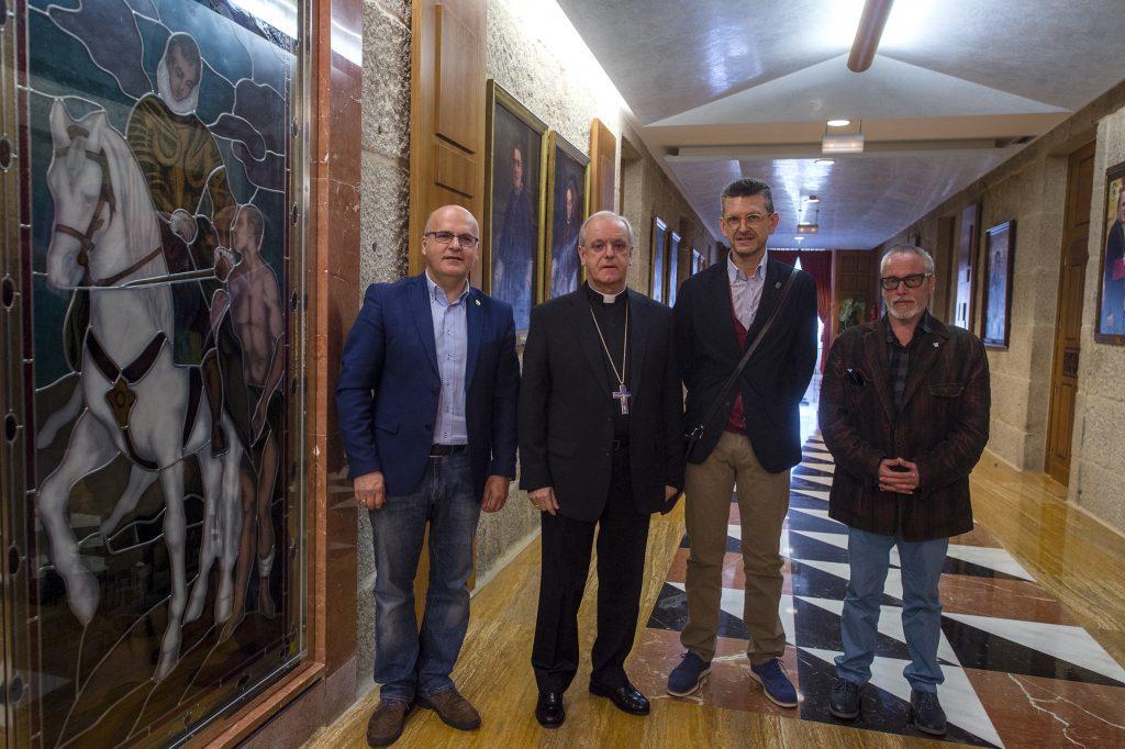 Manuel Baltar, Leonardo Lemos, Jorge López e Artemio Martínez.