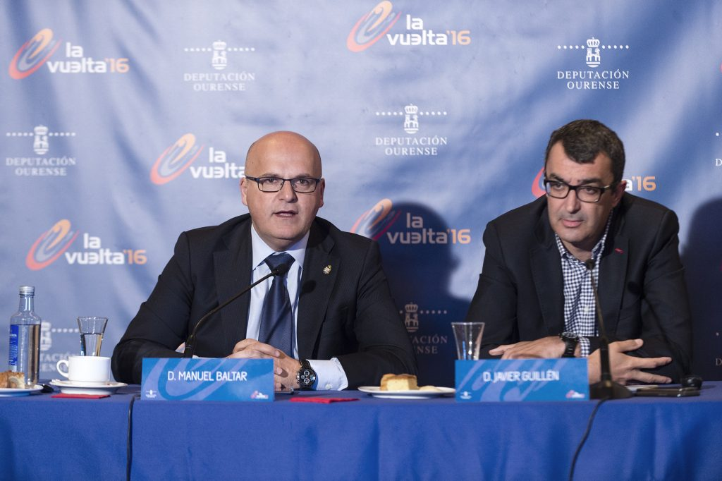 Manuel Baltar e Javier Guillén