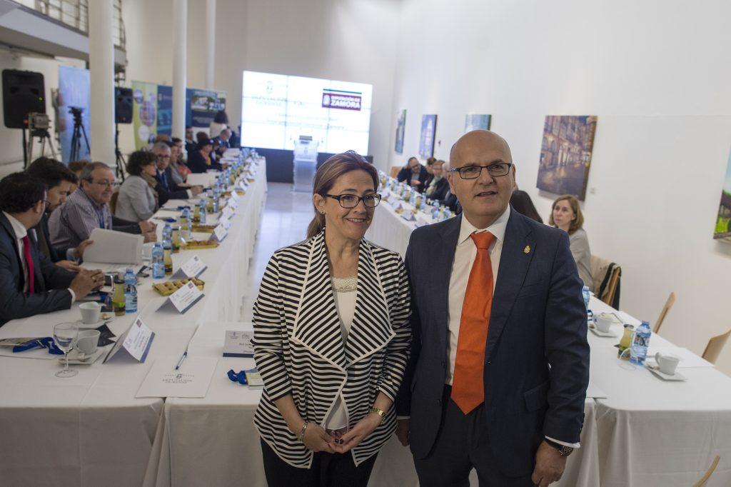 María Teresa Martín Pozo e Manuel Baltar