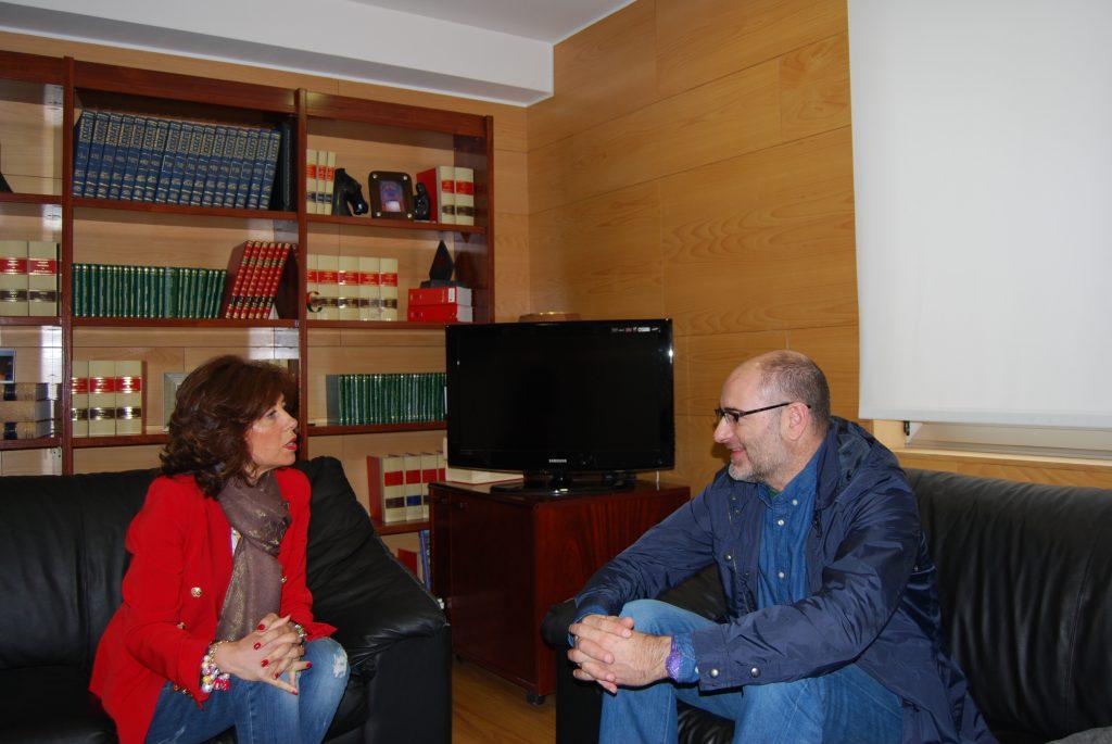 Marisol Díaz y Secundino Fernández, a finales de abril