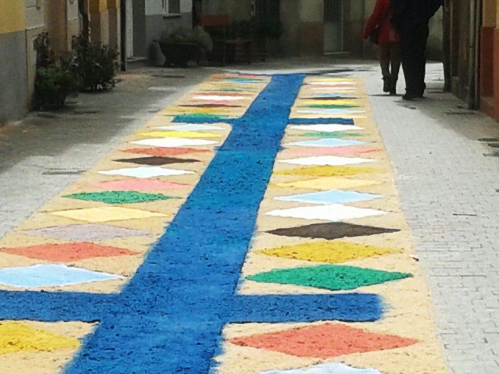 Otra alfombra dañada por el agua