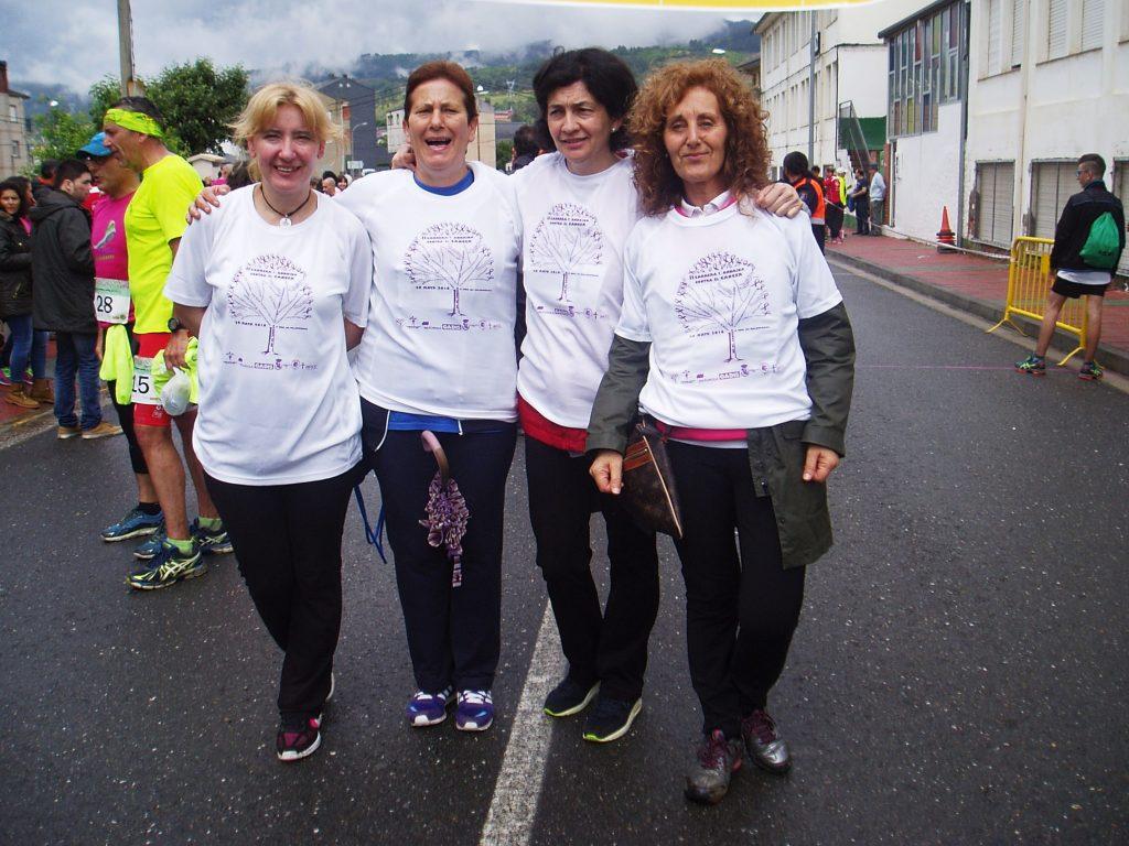 Participantes en la andaina