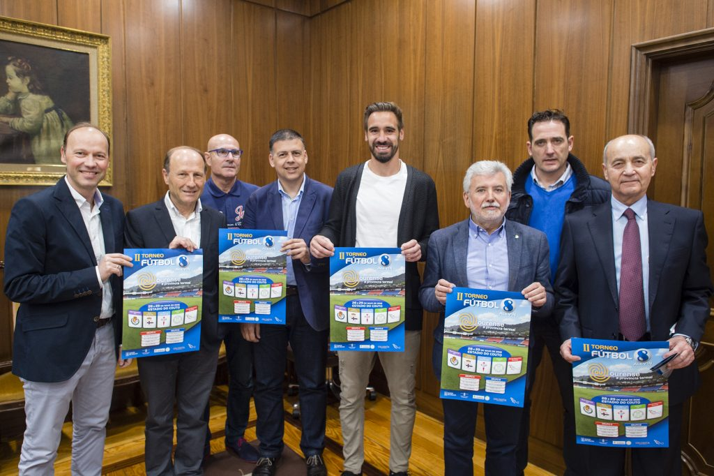 Presentación do II Torneo de Fútbol 8 Ourense Provincia Termal