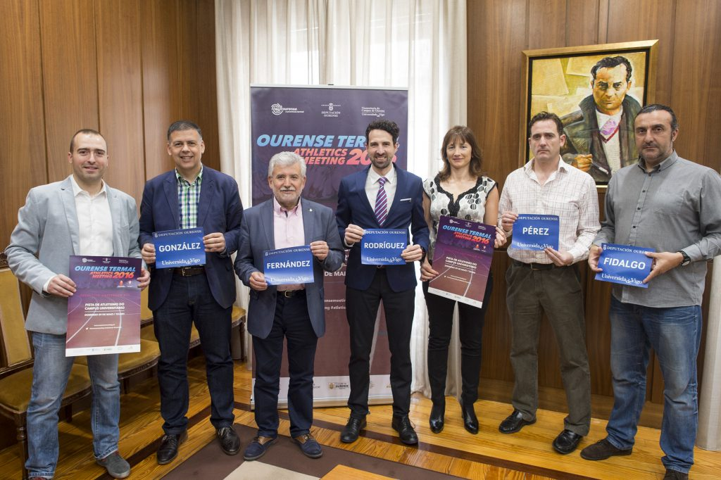 Presentación do Ourense Termal Athletics Meeting 2016