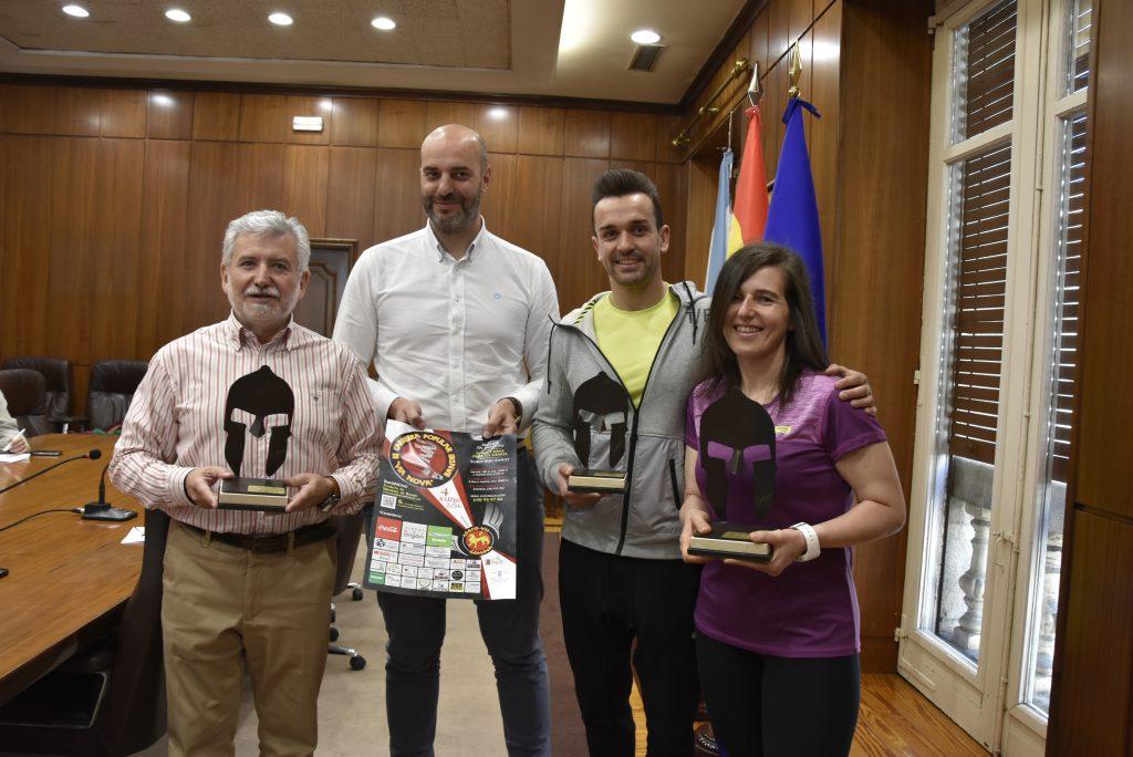 Rosendo Fernández, José Antonio Armada, Xurxo Vázquez e Melisa Pereira