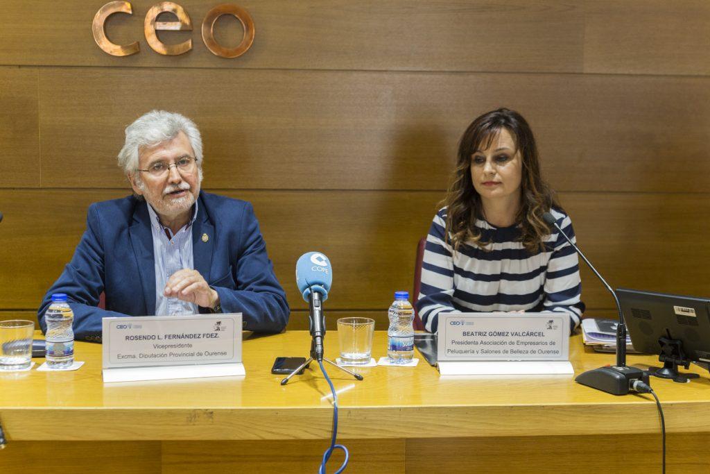 Rosendo Fernández e Beatriz Gómez