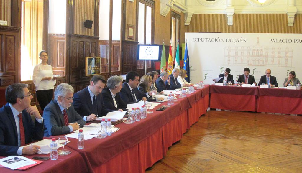 Rosendo Fernández na reunión da comisión de deputacións.