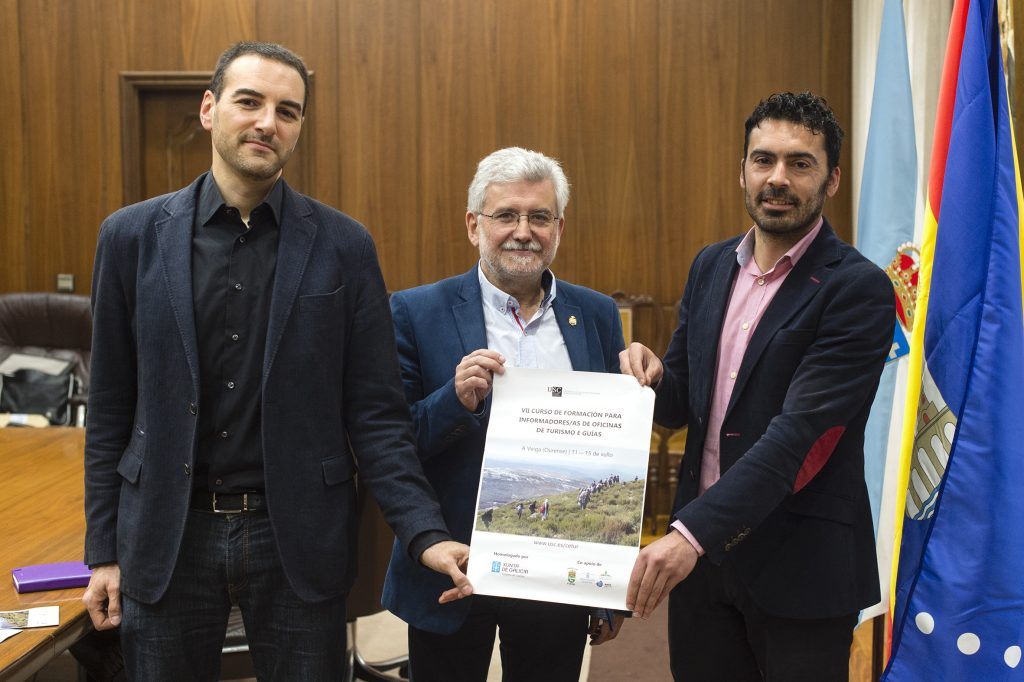 Valerià Paül, Rosendo Fernández e Juan Anta