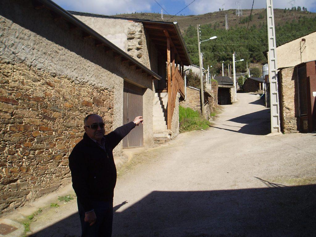 Zona alta de Vilela donde no hay presión de agua