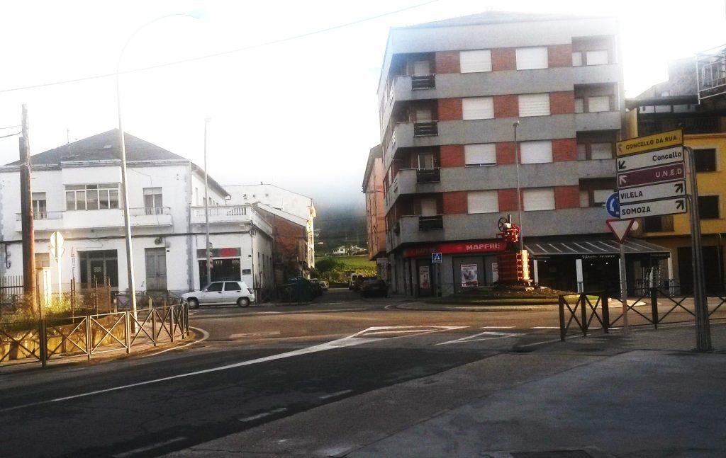 Zona de terrazas de A Rúa