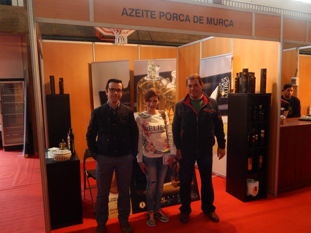 Directores de cooperativa de Azeite en Murça con nuestra Responsable Comercial