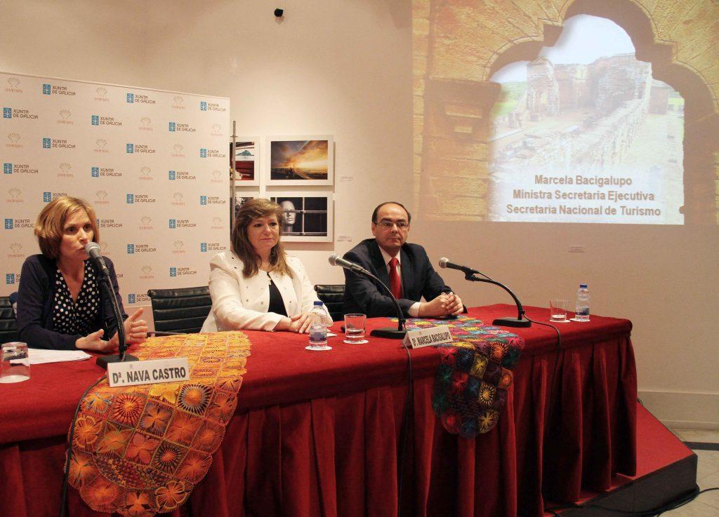 La Casa de Galicia en Madrid acogió ayer la presentación 'Paraguay como destino turístico', que contó con la participación de la ministra de Turismo del país