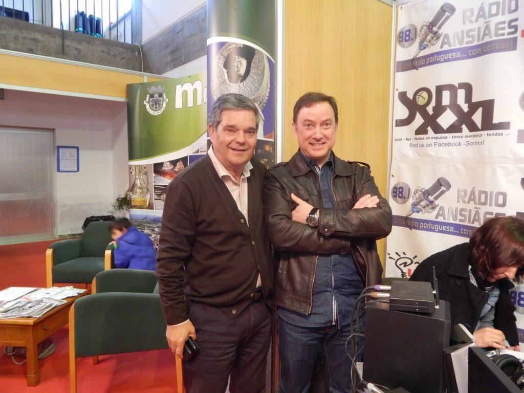 El Vice-Presidente de la Cámara Municipal de Murça, Raúl António Ribeiro Luís en Rádio Ansiães