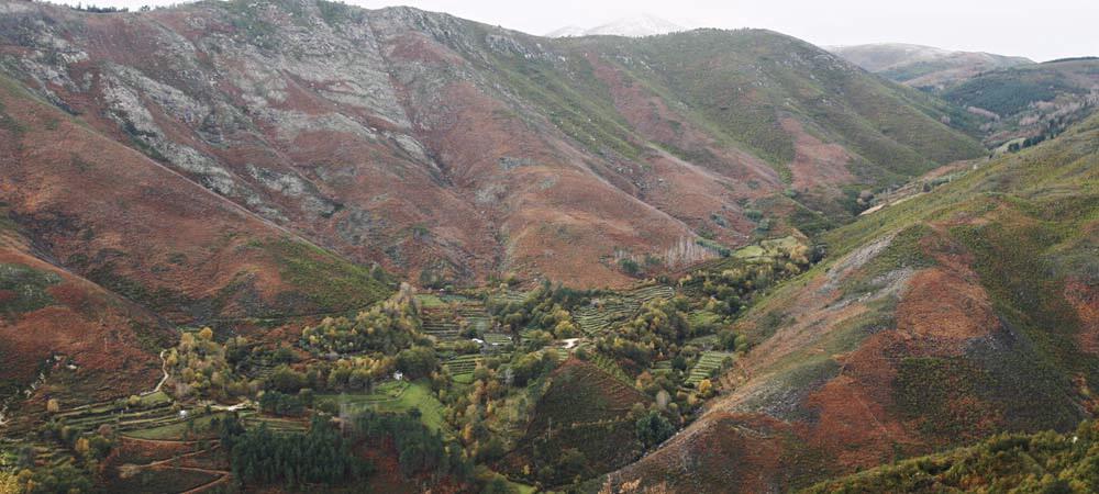 Serra da Enciña da Lastra (Rubiá, Valdeorras)