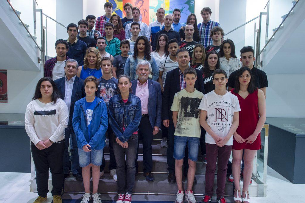 52 deportistas ourensáns reciben este ano as bolsas da Deputación de Ourense