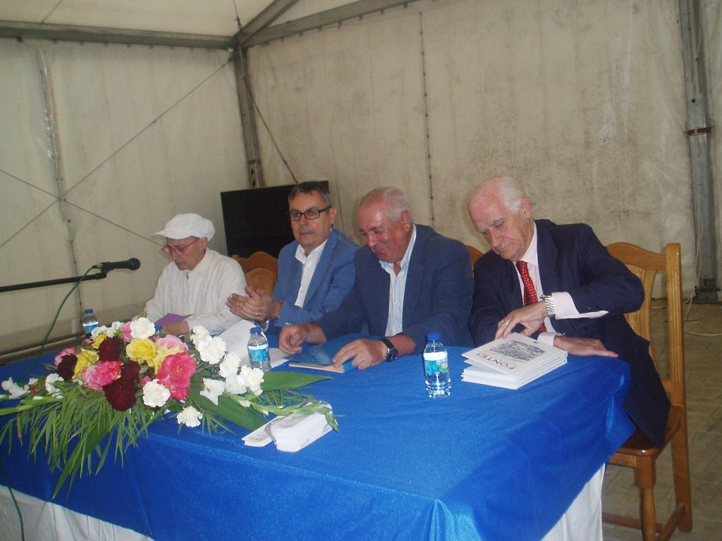 Asunción Arias, Jesús Manuel García, Enrique Rodríguez y José Antonio Casanova