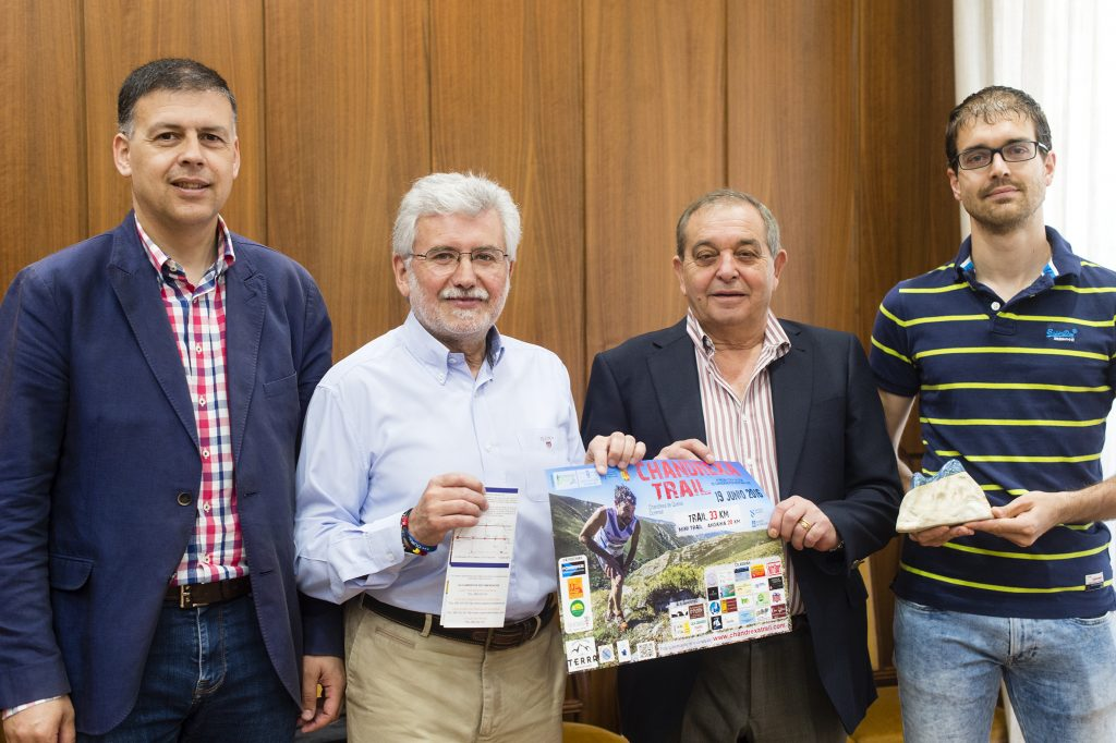 Bernardino González, Rosendo Fernández, Francisco Rodríguez e Diego Martínez