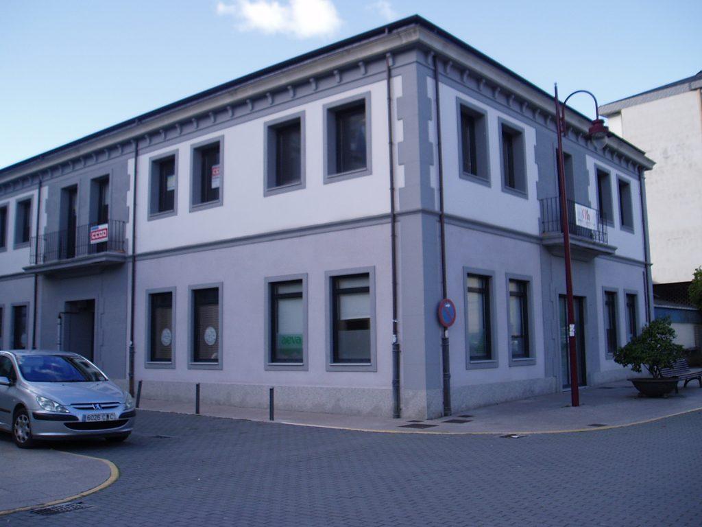 Edificio donde está las sede de AEVA