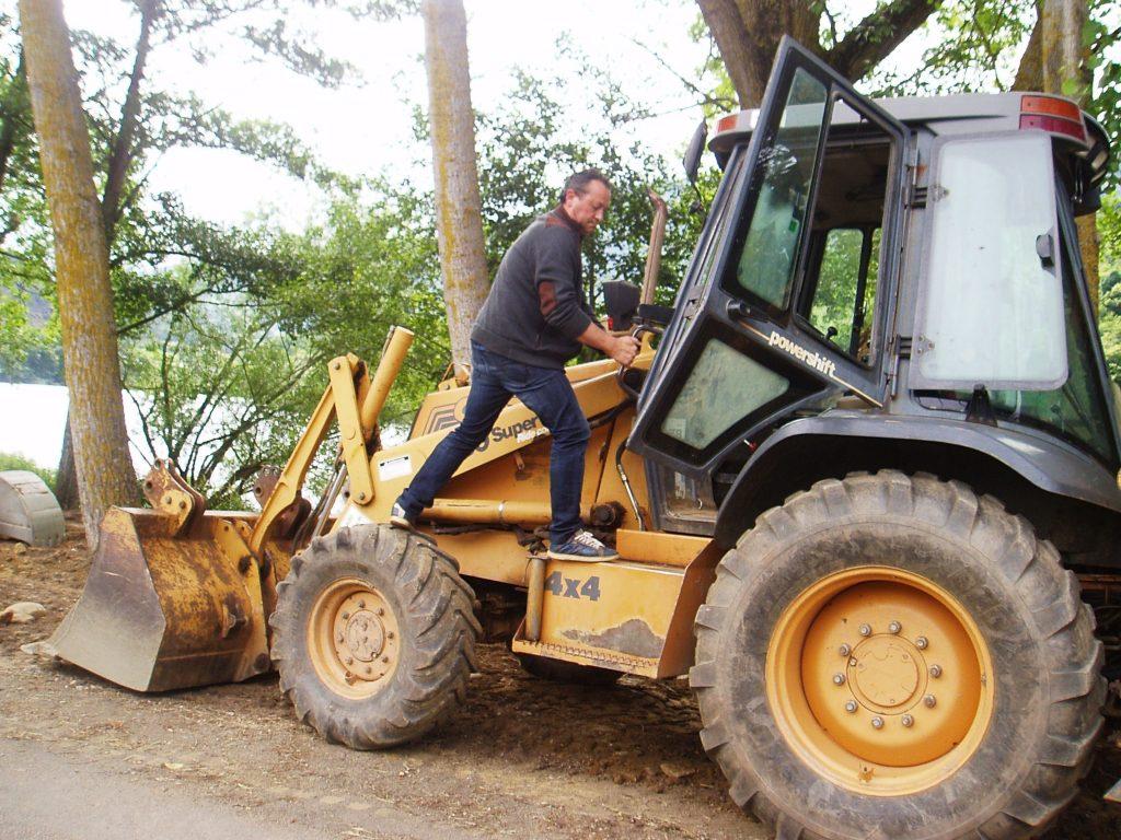 El alcalde prepara la maquinaria