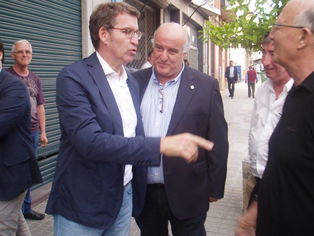 En A Rúa con Avelino García Ferradal y el presidente del Consello Regulador