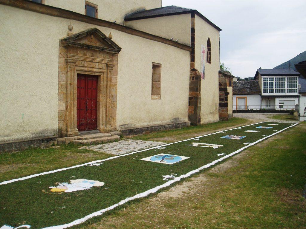 En el entorno de la Iglesia de San Esteban