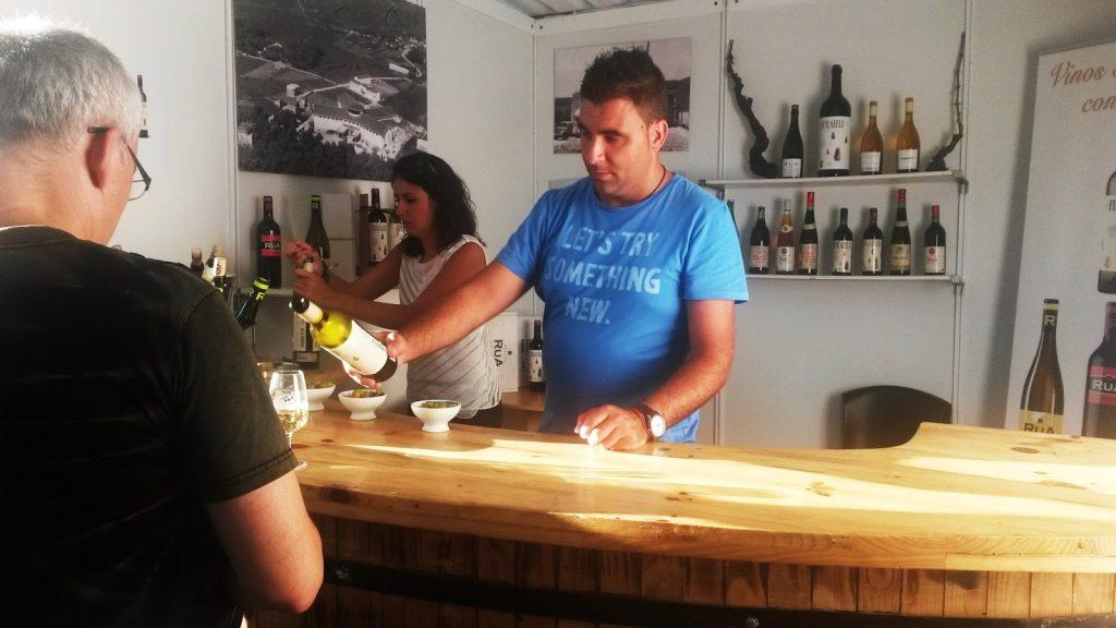 Feira do Viño el año pasado en Viloira