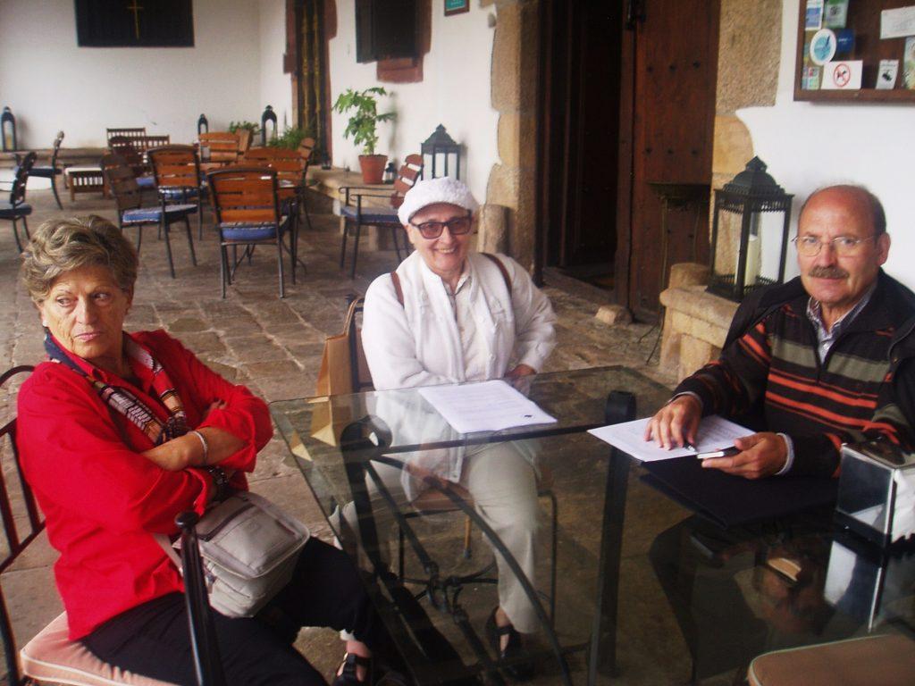 Felicidad Pérez, Asunción Arias y José Rúa
