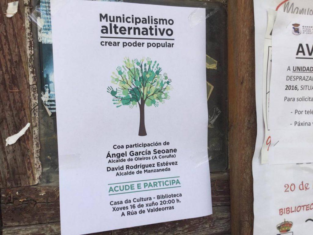 Foto Cartaz Municipalismo