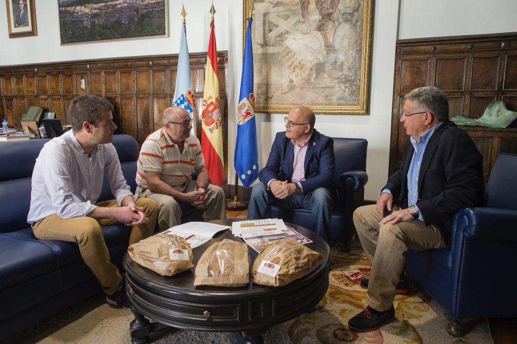 José de Lama, Carlos Rodríguez, Manuel Baltar e José Luis Valladares