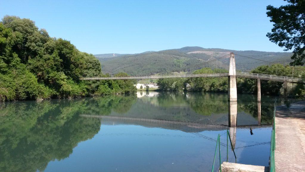 La pasarela de Penouta