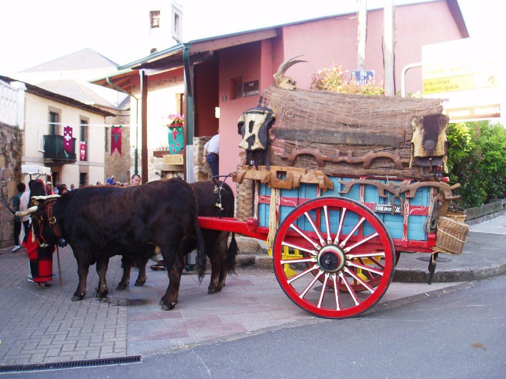Los bueyes y el carro