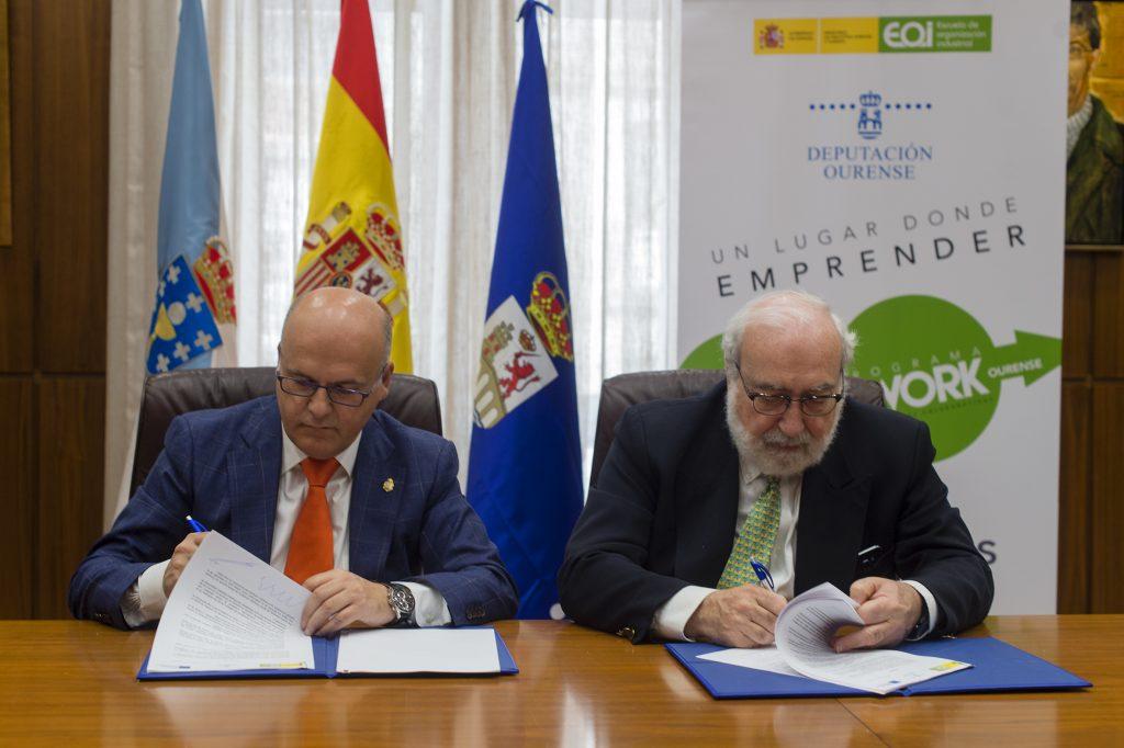 Manuel Baltar e Fernando Bayón