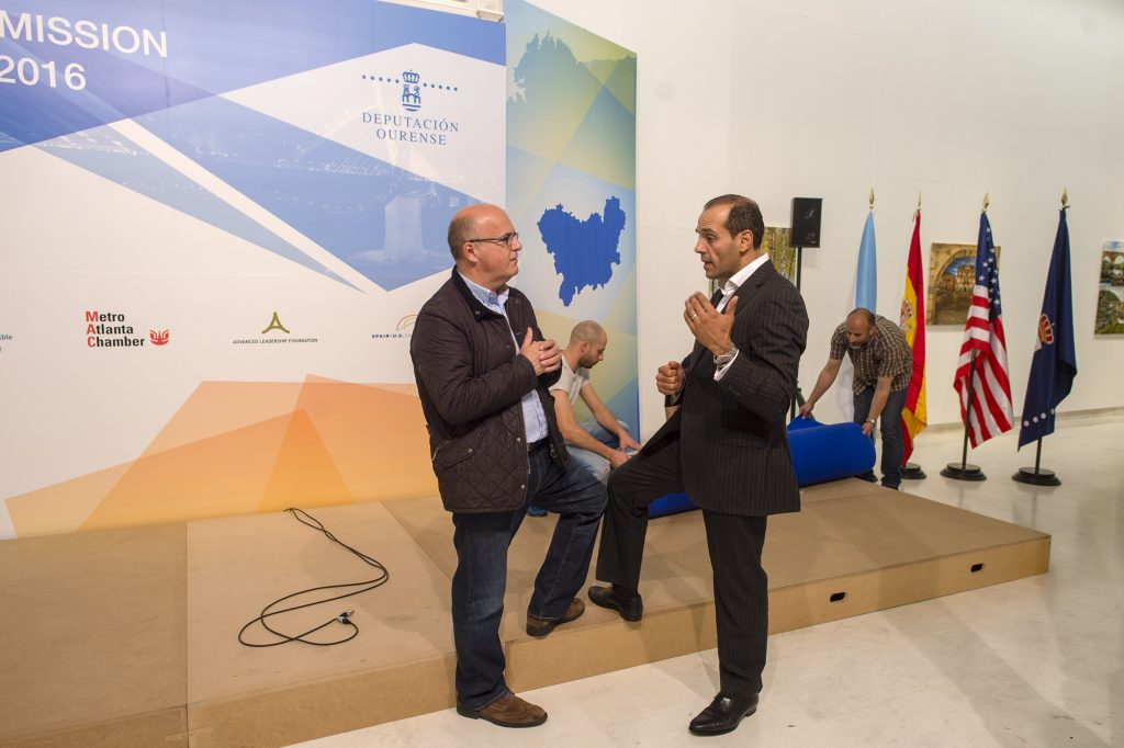 Manuel Baltar e Juan Verde