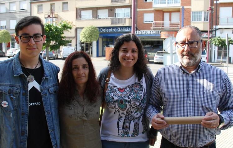 Noa e candidatos en Valdeorras en O Barco
