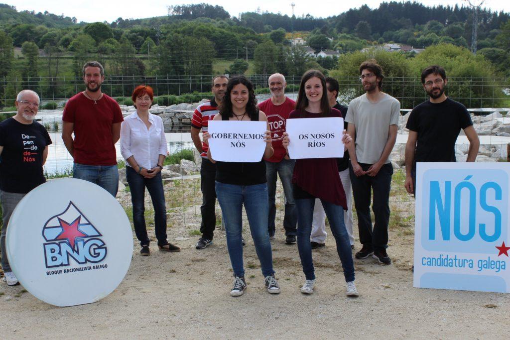 Presas e Rodil, xunto ao Miño, en Lugo