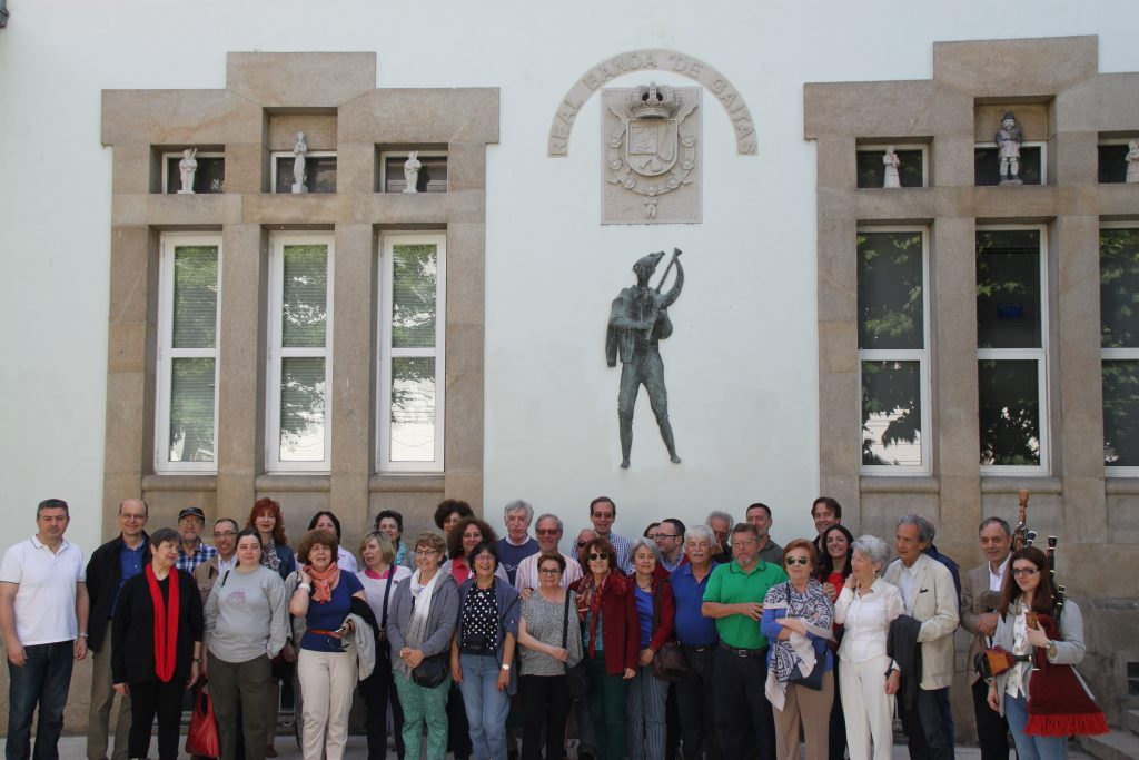 Visita ao Museo Internacional de Cornamusas