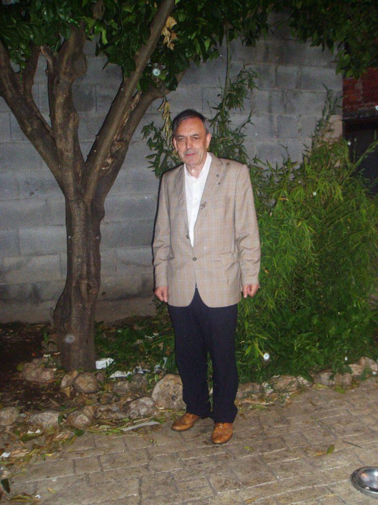Xosé Lois Foxo, director de la Real Banda de Gaitas de Ourense