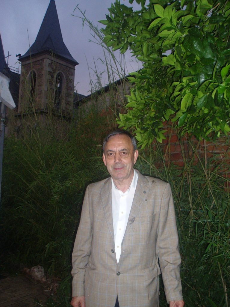 Xosé Lois Foxo en Fontei (A Rúa)