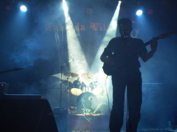 Durante un concierto