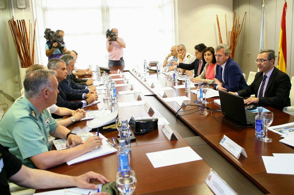 El Comité está presidido por el vicepresidente de la Xunta, Alfonso Rueda, que estuvo acompañado por la conselleira del Medio Rural, Ángeles Vázquez