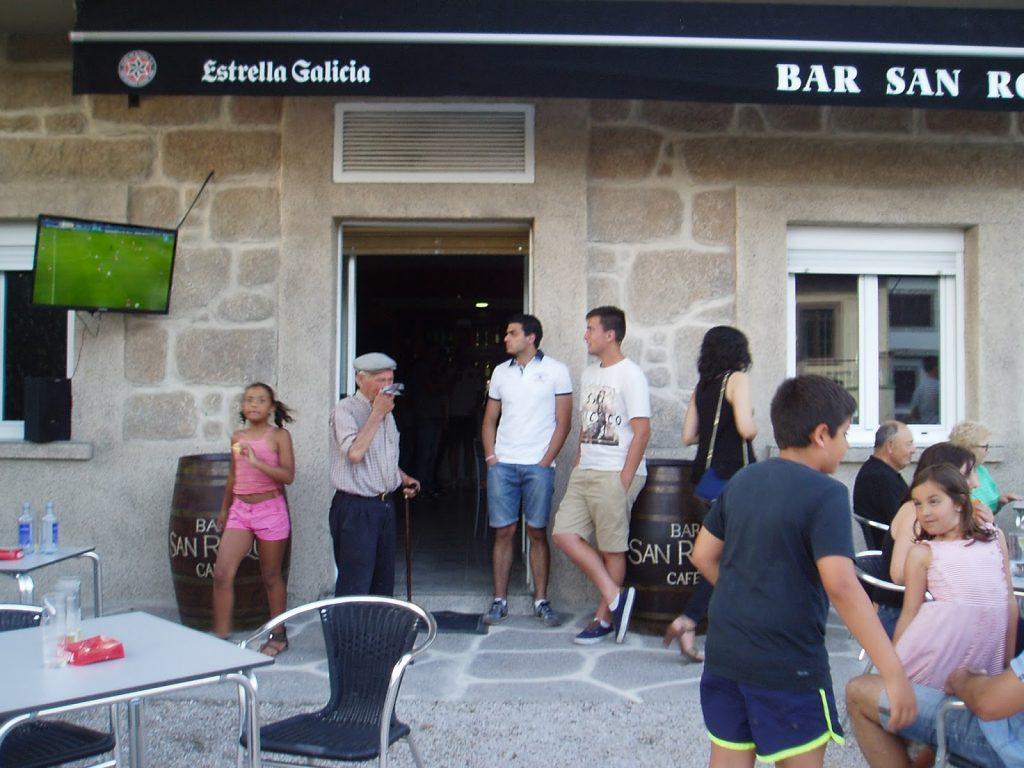 Bar San Roque reapertura en A Rúa Vella