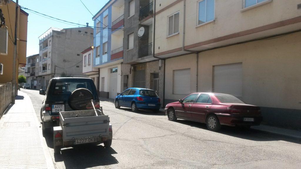 Calle Felgar de A Rúa