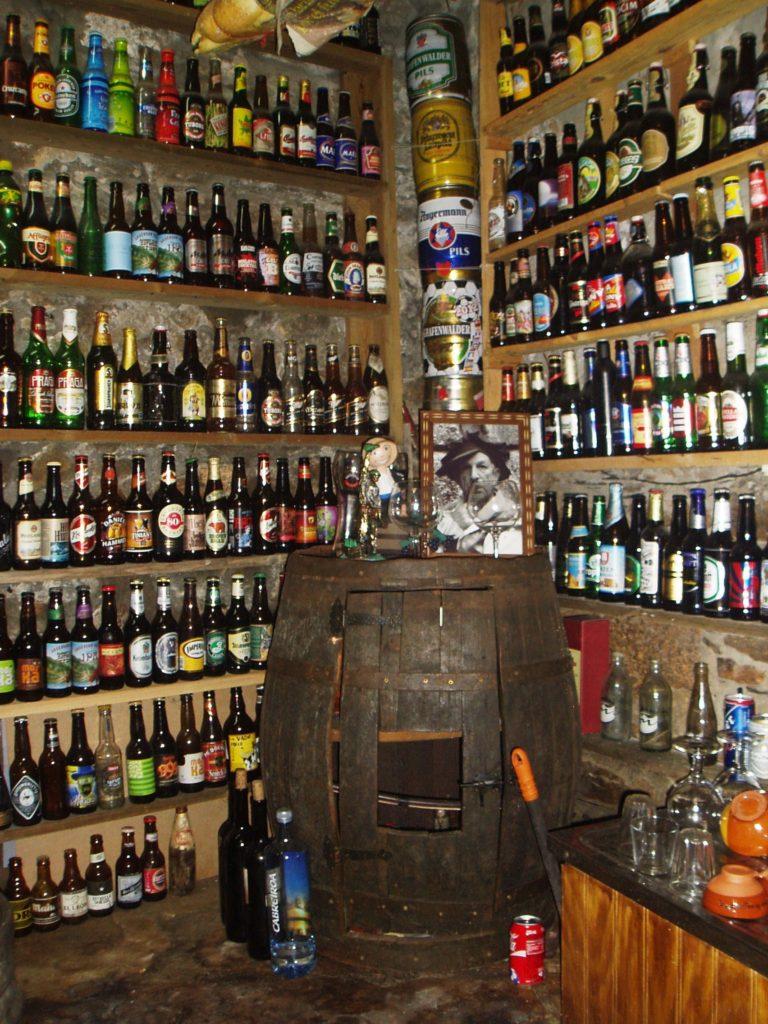 Colección de las botellas