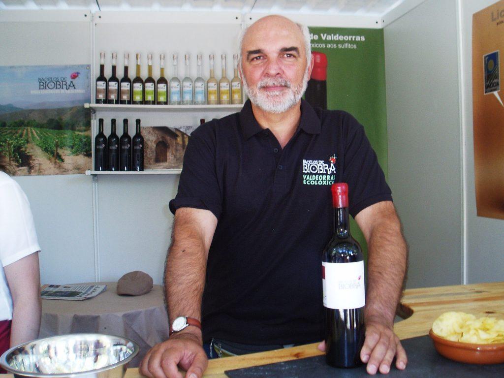 Docampo es el único que hace vino ecológico y sin sulfitos en Valdeorrras